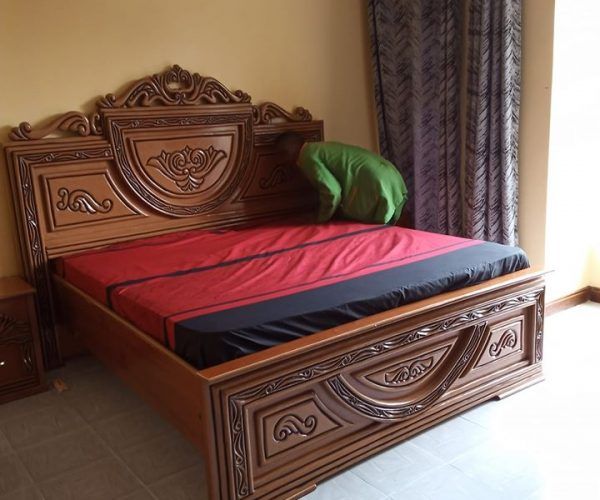 image of king size bed